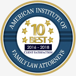 aifla award badge for 10 best attorneys